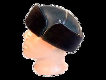 Классическая шапка с ушками модель 18
