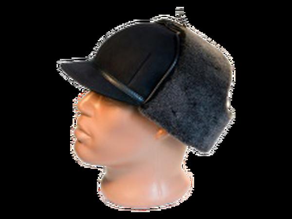 Шапка – ушанка с козырьком модель 21