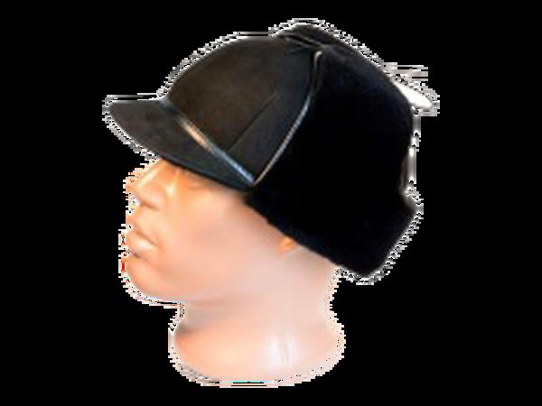 Шапка – ушанка с козырьком модель 22