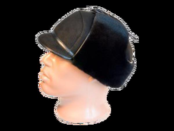 Шапка-ушанка с козырьком – модель 4