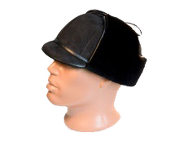 Шапка-ушанка с козырьком – модель 8